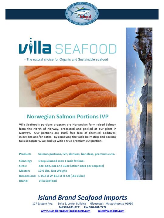 Island Brand Seafood - Salmon